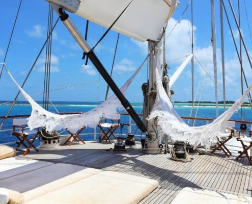 yacht con equipaggio