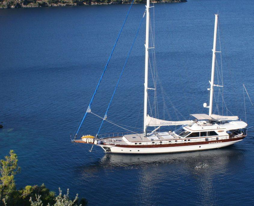 Getaway, Yacht, 31.6 m