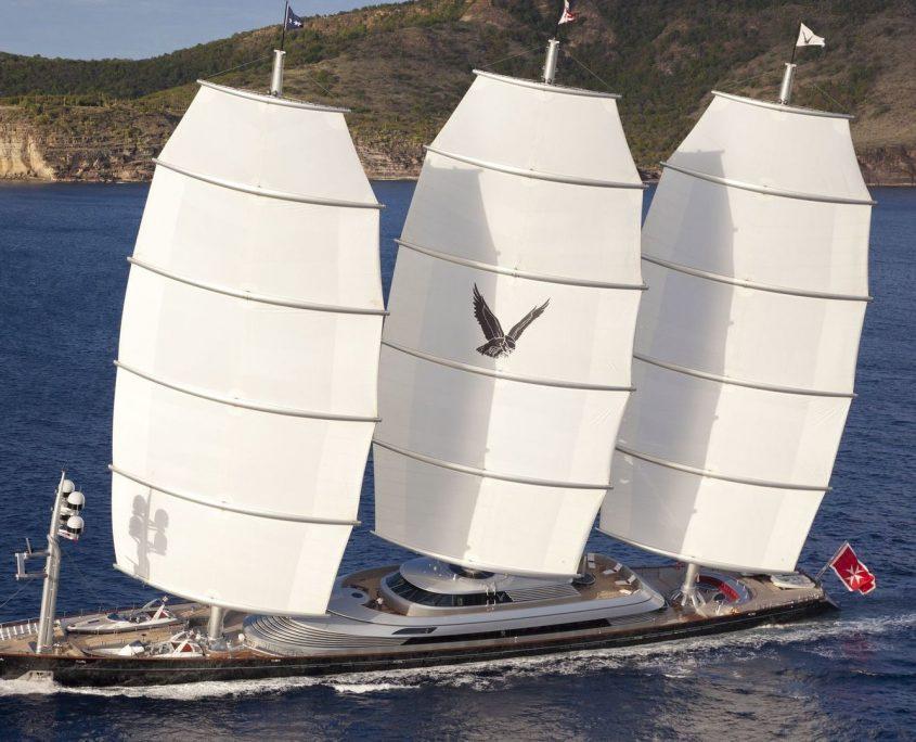 Maltese Falcon, Yacht, 88m - Perini Navi