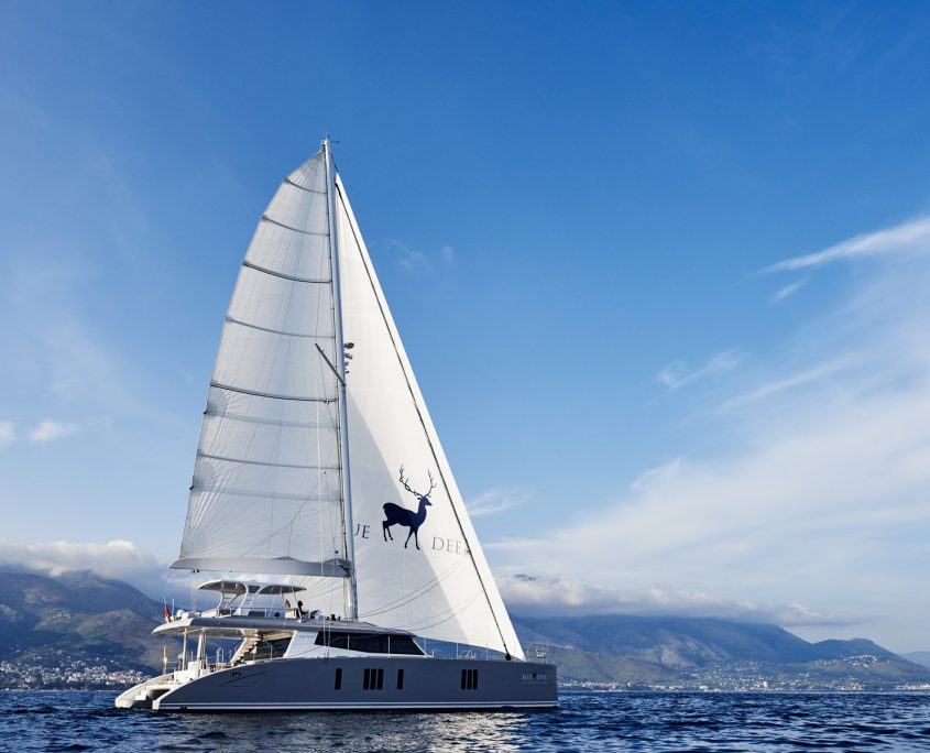 blue deer catamarano a vela
