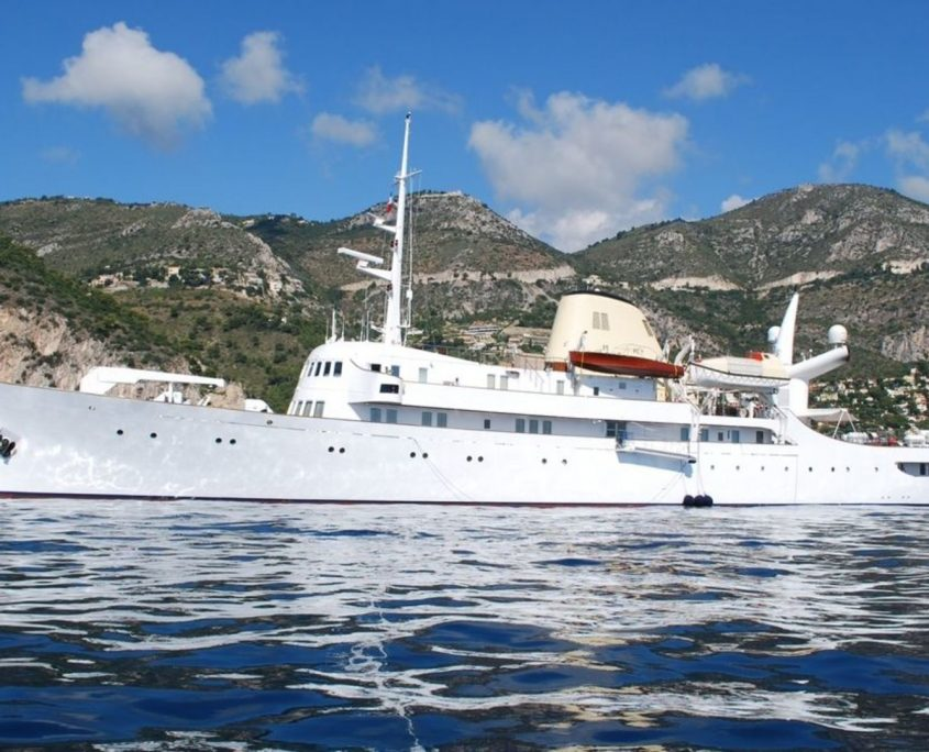Christina O, Yacht 99.6m - Canadian Vickers