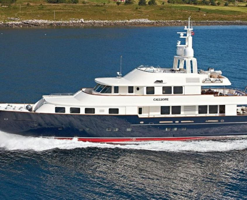 Calliope, Yacht, 42.27 m - Holland Jachtbouw