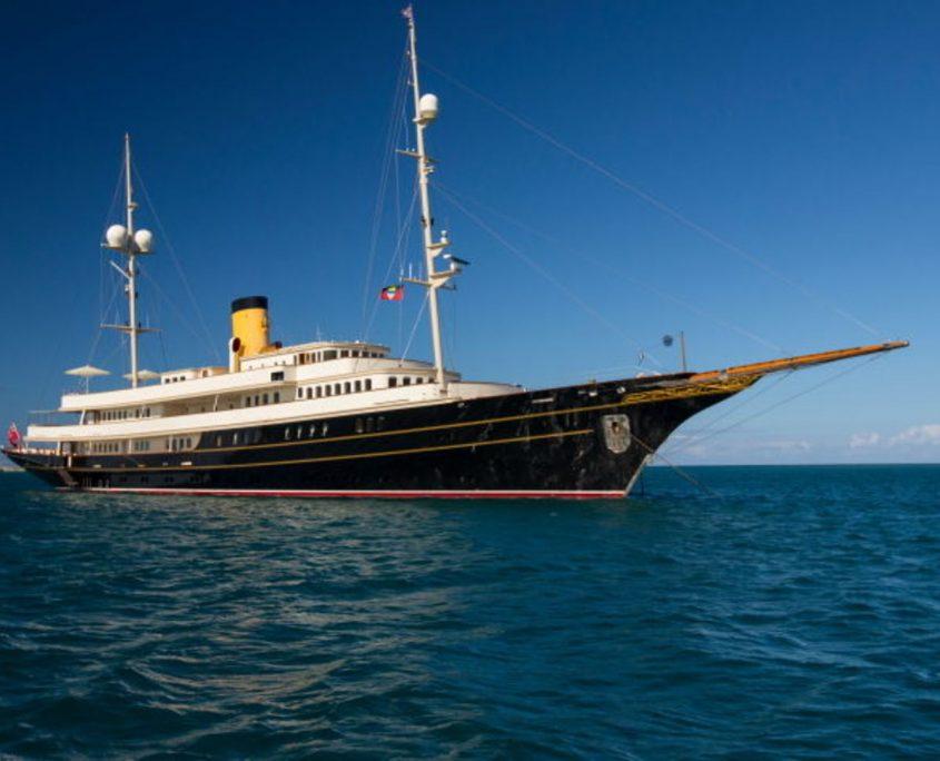 Nero, yacht, 90m - Corsair yacht