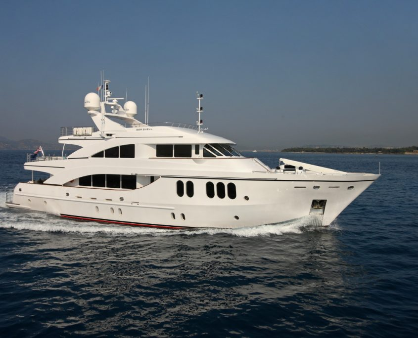 Sea Shell, Yacht - 33m Fittipaldi