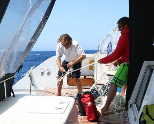 Kaskazi Four_salvataggio naufrago Gibilterra_equipaggio