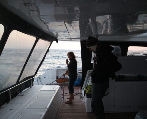 Kaskazi Four_salvataggio naufrago Gibilterra_radio