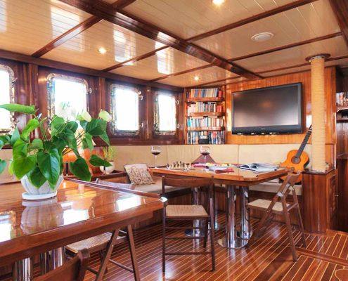 Myra caicco - noleggio yacht di lusso