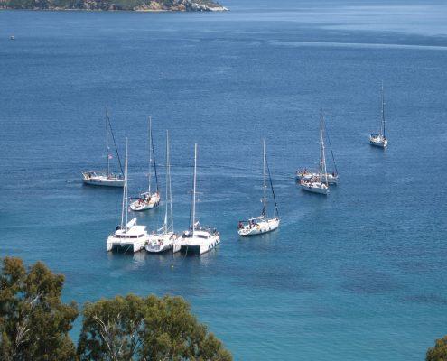 Settimana in barca a vela gruppo