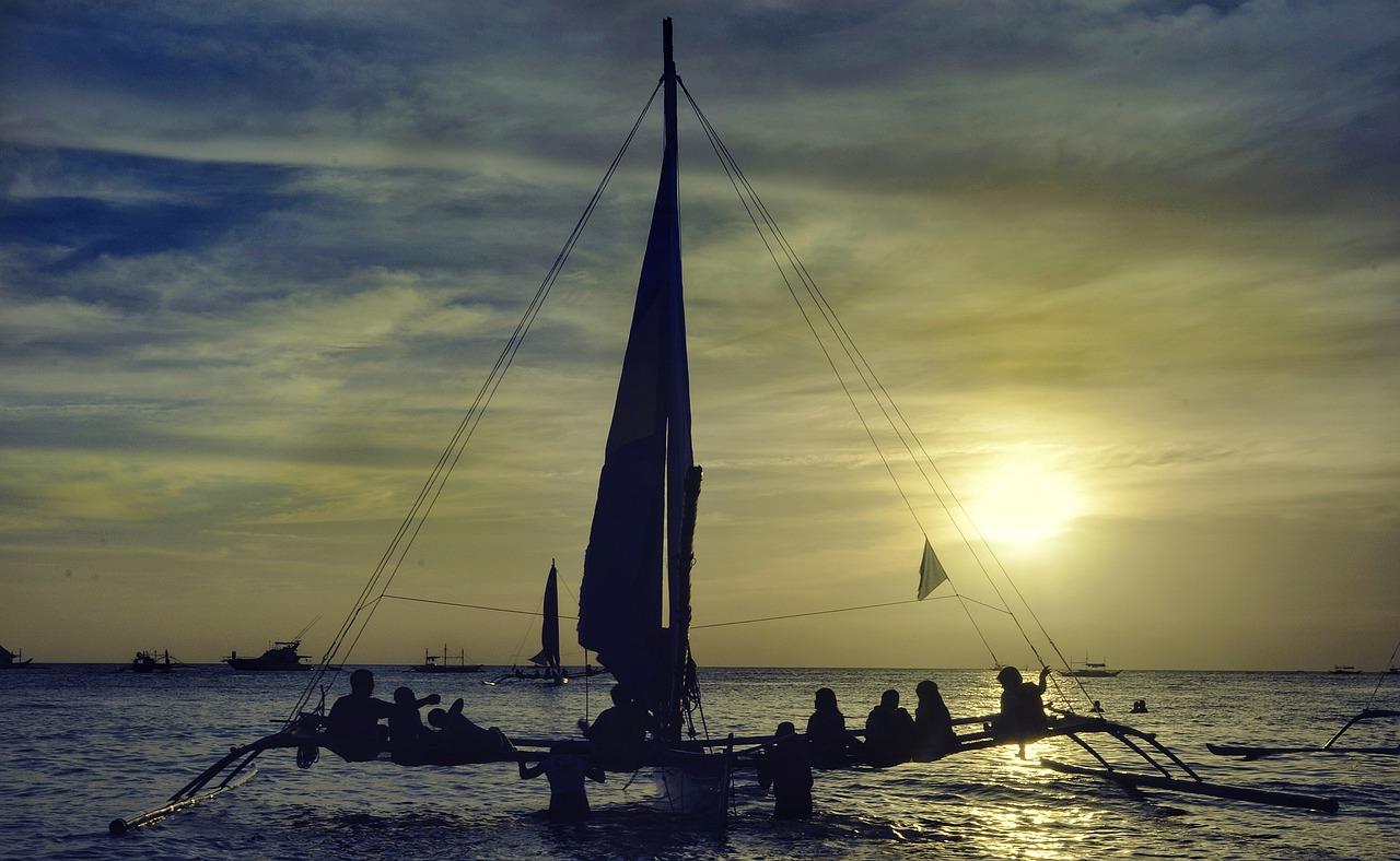 Settimana in barca a vela sera