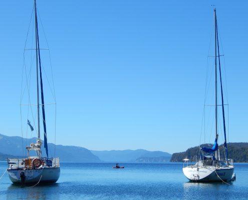 Settimana in barca a vela due barche