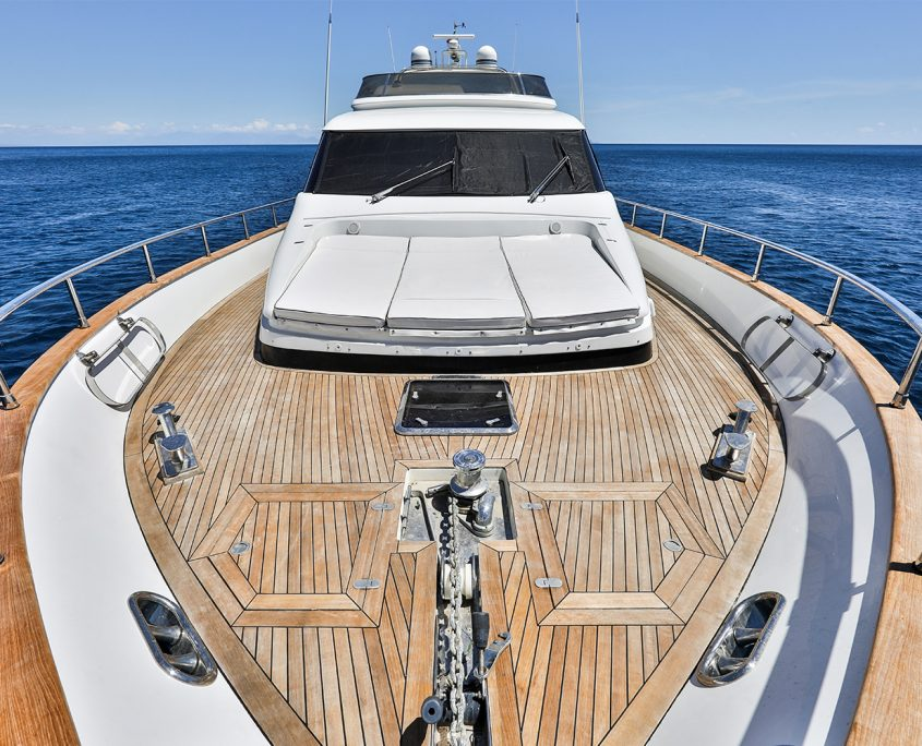 Resilience main deck
