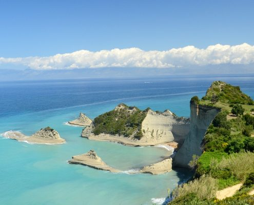 Crociera in barca a vela in Grecia corfu mare
