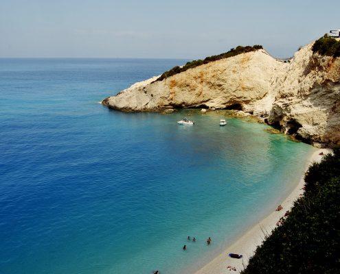Crociera in barca a vela in Grecia lefkada baia