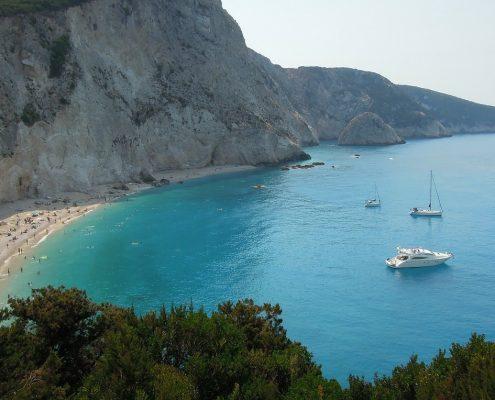 Crociera in barca a vela in Grecia lefkada rada