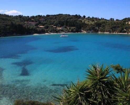 Crociera in barca a vela in Grecia paxos mare