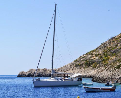 Crociera in barca a vela in Grecia zante barche