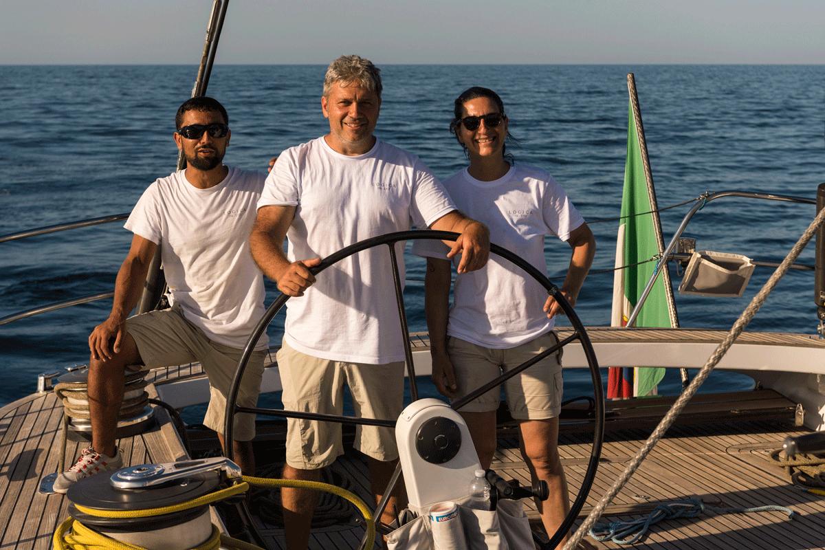 logica yacht equipaggio