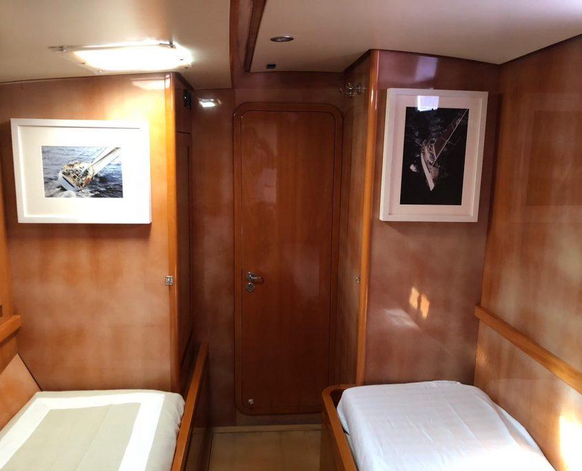 logica cabina ospiti doppia