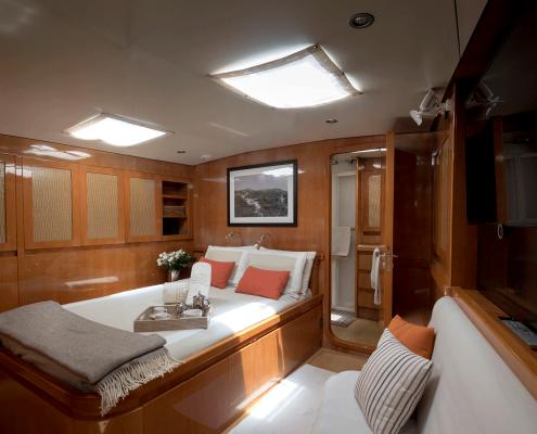 logica yacht cabina armatoriale