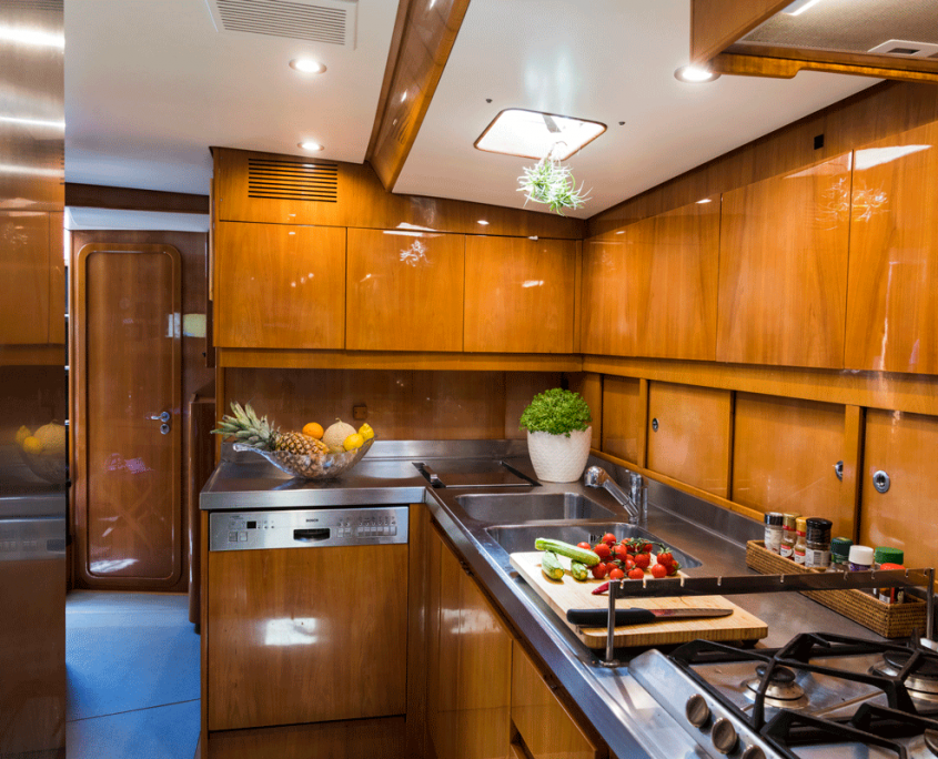 logica yacht cucina