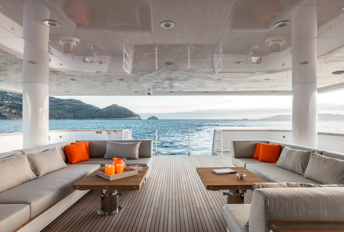 genesia yacht charter exterior