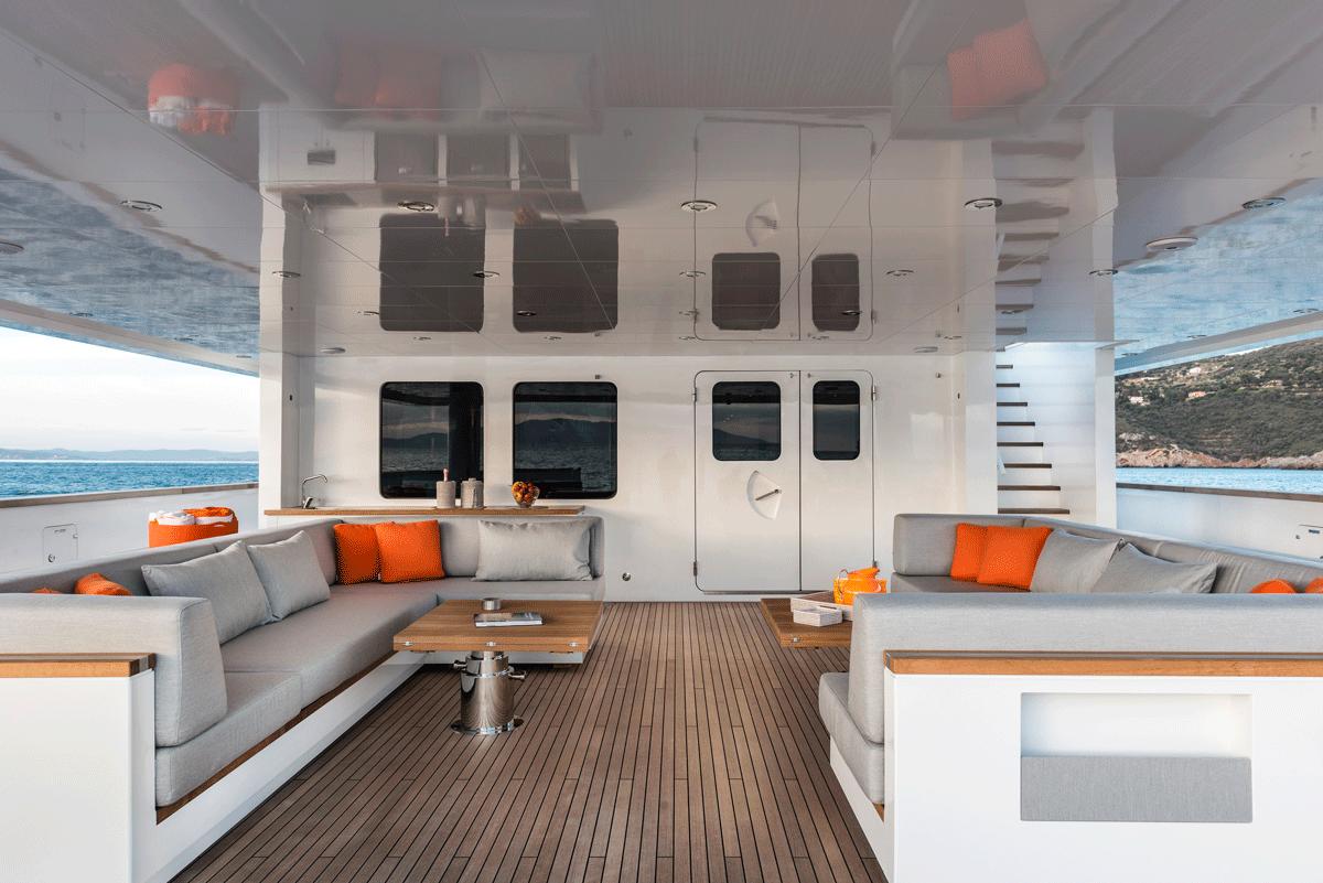 genesia yacht cockpit