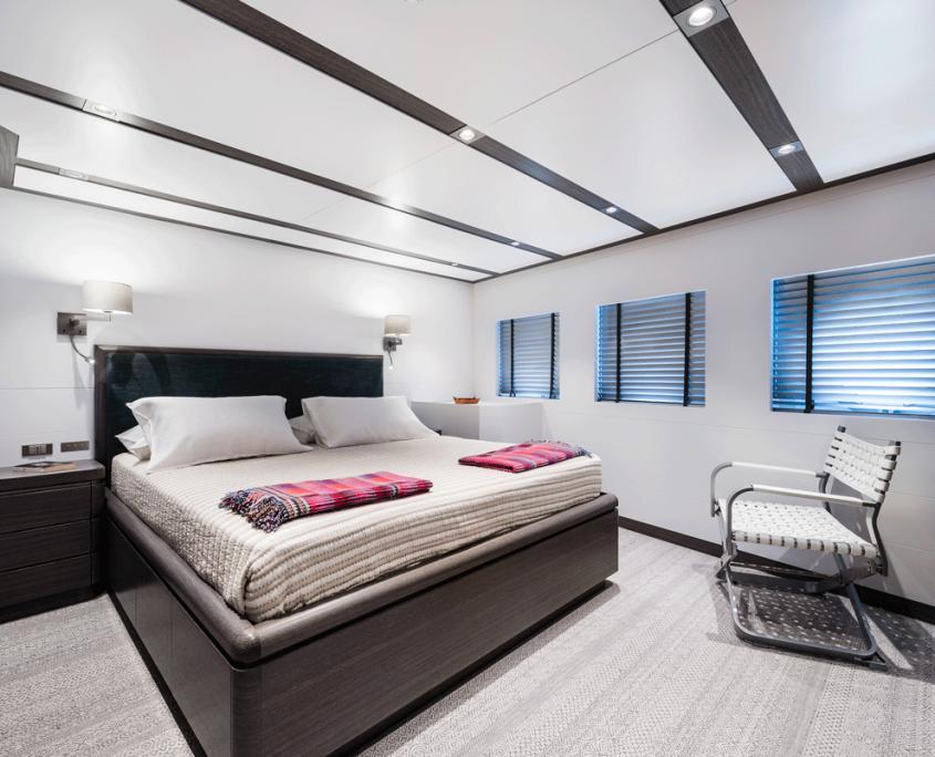 genesia yacht guest cabin