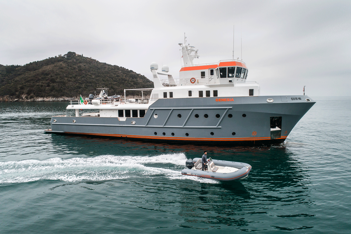 genesia yacht tender