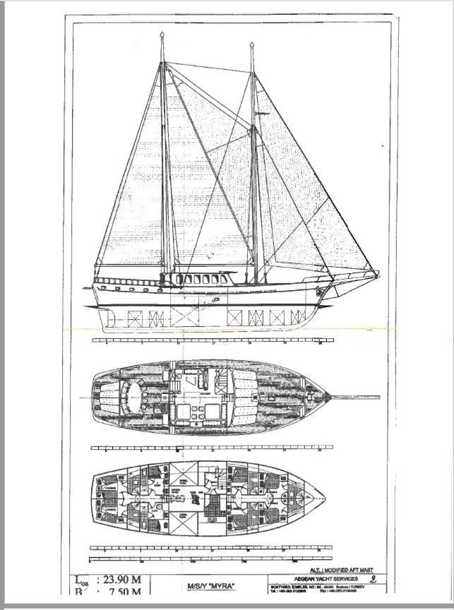 myra yacht layout