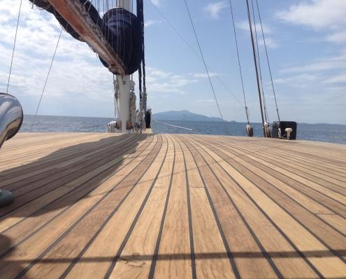 myra yacht deck