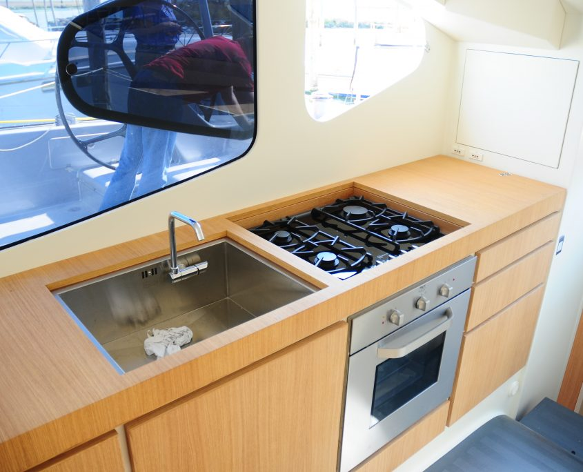 Obi One galley