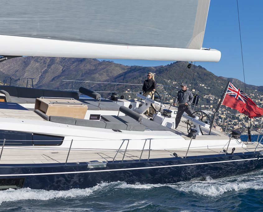 Advanced 80 sailing yacht