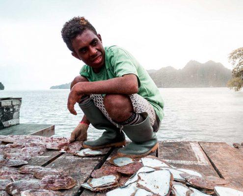 raja ampat pescatore di perle