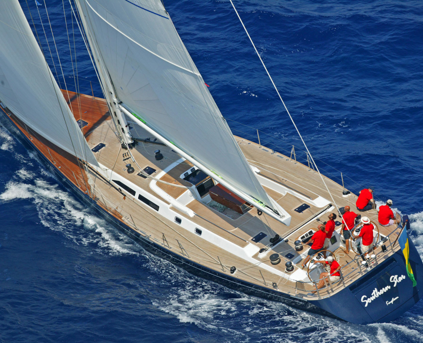 southern star yacht vela
