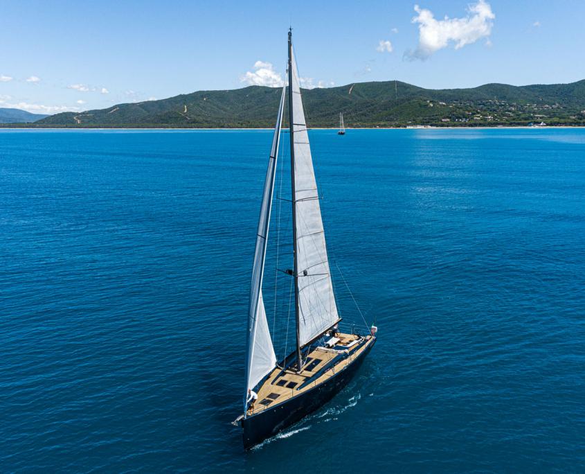 custom yacht kind of blue