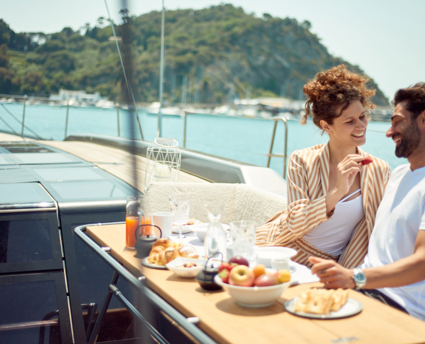 colazione yacht