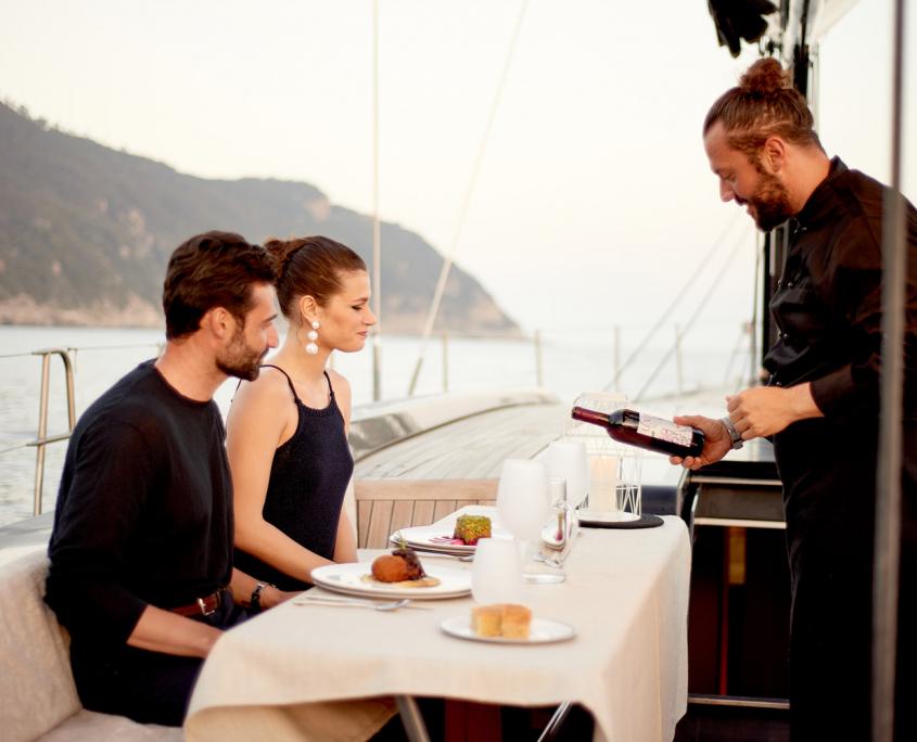 dinner on board aori