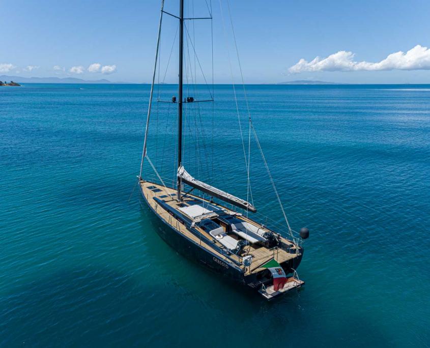 yacht a vela 3 cabine